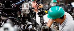 Produção da indústria fecha 2015 com a maior queda da história
