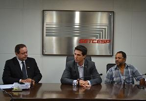 SETCESP recebe pauta de reivindicações dos sindicatos profissionais