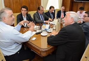 Presidente do SETCESP, Tayguara Helou, participa de encontro com o vice-governador de São Paulo, Márcio França