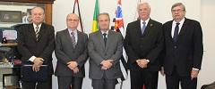 FETCESP se reúne com secretário de Segurança de SP