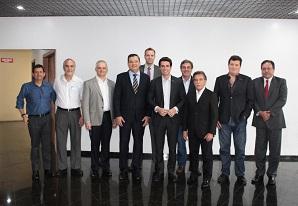 Subprefeito da Vila Maria participa de reunião com a Diretoria Executiva