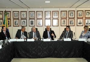 Presidente do SETCESP, Tayguara Helou, participa de reunião no Ministério da Justiça em Brasília