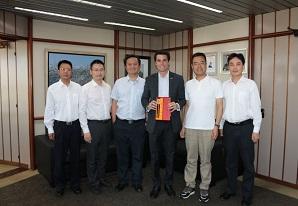 SETCESP recebe executivos da Sichuan Transportation Investment Group