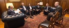 Presidente da FETCESP se reúne com o governador Geraldo Alckmin