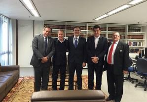 SETCESP se reúne em Brasília com Coordenador da Administração Aduaneira