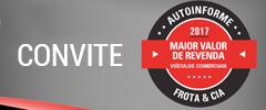 Venha conhecer, em primeira mão, os caminhões e utilitários mais valorizados do mercado brasileiro