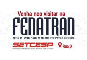 Começa hoje a participação do SETCESP na FENATRAN 2017