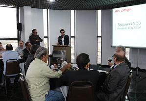 SETCESP recebe novos associados e parceiros em almoço da Diretoria Plena