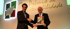 """Sergio Avelleda é homenageado com """"Menção Honrosa"""" no 3º Prêmio de Sustentabilidade SETCESP & Transporte Moderno"""