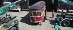 Bonde Camarão de volta ao acervo do Museu dos Transportes Públicos