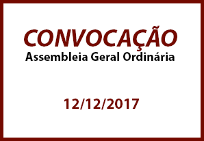 EDITAL DE CONVOCAÇÃO DE ASSEMBLEIA GERAL ORDINÁRIA
