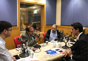 Ouça a entrevista do presidente, Tayguara Helou, para o Jornal Gente da Rádio Bandeirantes