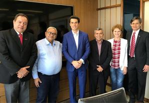 SETCESP recebe visita dos presidentes do Setcema e Sindicapi