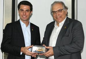 SETCESP recebe o novo Secretário de Mobilidade e Transportes de São Paulo