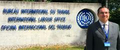 Narciso Figueirôa Junior representa a CNT na 107ª Conferência Internacional da OIT