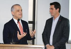 Governador de São Paulo, Márcio França, participa de almoço no SETCESP