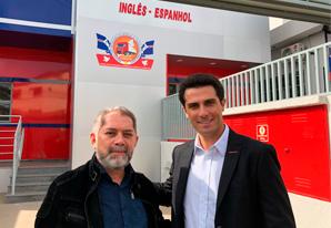 Presidente do SETCESP visita SINDICARGAS de Guarulhos