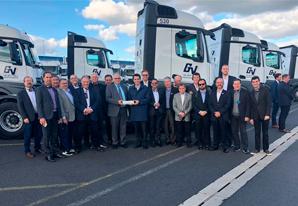 SETCESP conhece operações de transporte na Alemanha