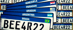 Placas do Mercosul são suspensas pela Justiça em decisão provisória