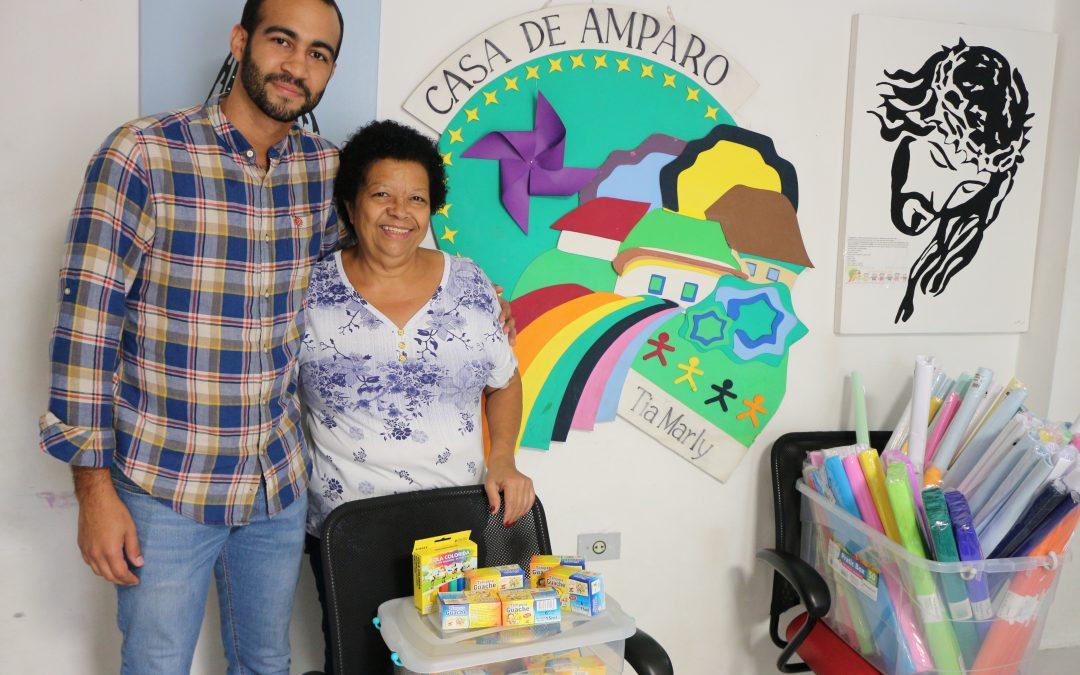 COMJOVEM SP entrega doações da Campanha Volta às Aulas