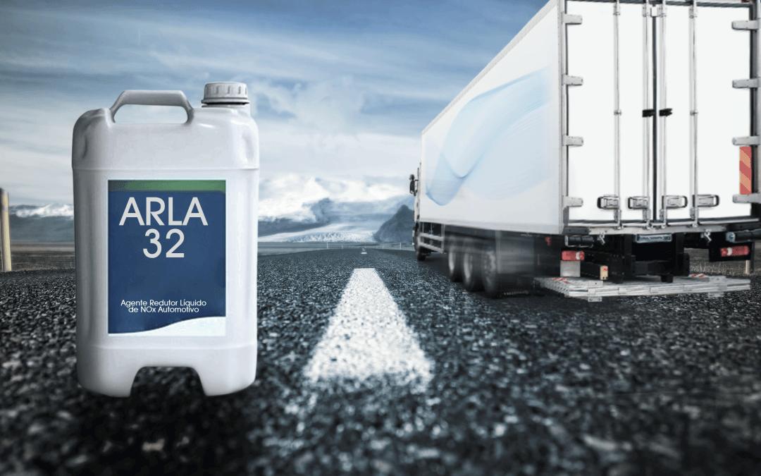 Consumo de ARLA 32 reduz déficit e fecha ano 35% abaixo do necessário para a frota de pesados