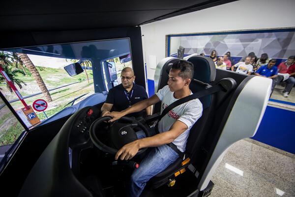 Simulador, o grande aliado do transporte