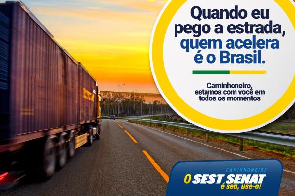 SEST SENAT promove ação nacional para caminhoneiros