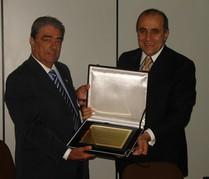 Transportadora Braspress homenageia o Presidente do SETCESP