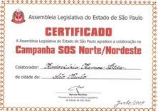 SETCESP e Ramos são homenageadas pela ajuda às vítimas das chuvas no Norte e Nordeste