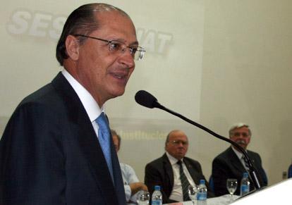 Geraldo Alckmin participa de debate nesta terça no SETCESP