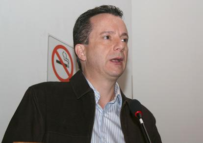 Celso Russomano participa de evento no SETCESP