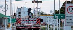 Transportadoras querem mais tolerância para peso dos eixos