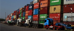Porto de Santos inicia testes operacionais com controle do acesso de caminhões