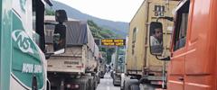 A partir do rastreamento de caminhões, projeto quer otimizar agendamento