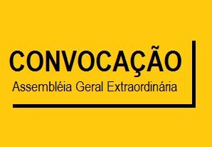 EDITAL DE CONVOCAÇÃO DE ASSEMBLÉIA GERAL EXTRAORDINÁRIA