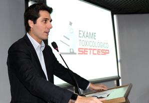 SETCESP apresenta convênio para realização de Exames Toxicológicos
