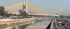 Sem manutenção, pontes e viadutos de SP acumulam fissuras e infiltrações