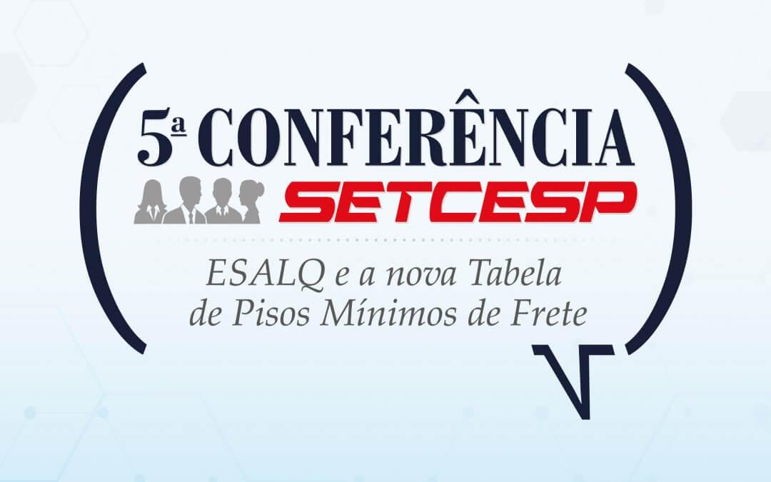 Participe da 5ª Conferência SETCESP