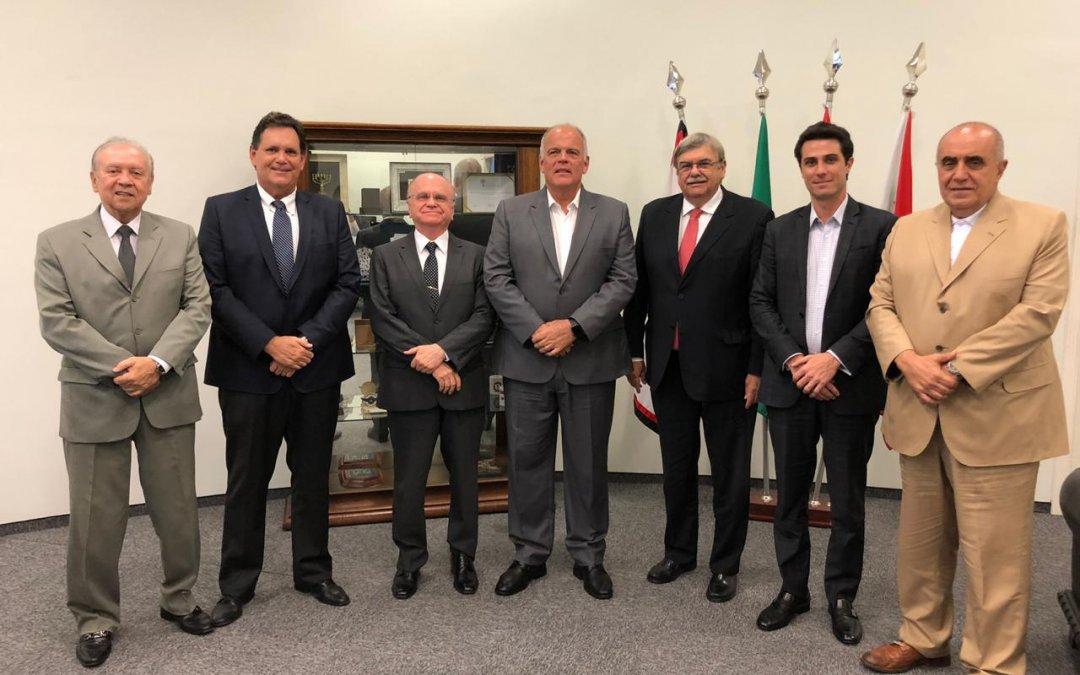 SETCESP e FETCESP se reúnem com secretário da Segurança de São Paulo