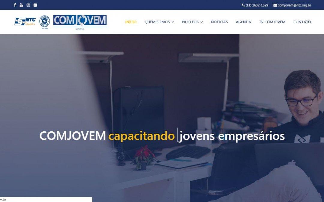 COMJOVEM Nacional ganha novo site