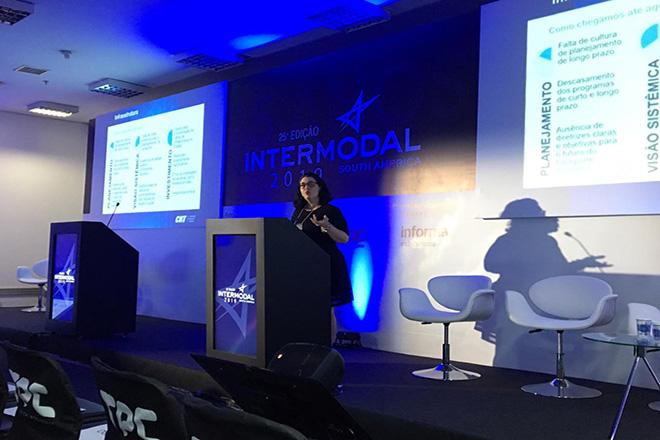 CNT apresenta perspectivas para o futuro da logística brasileira na Intermodal
