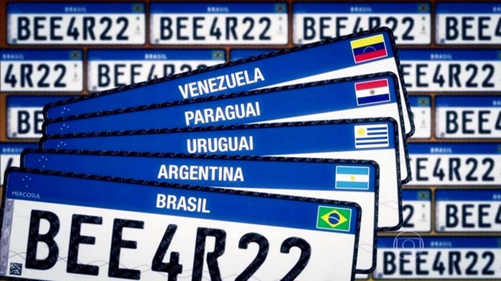 Placa Mercosul dificilmente sai em 2019 para São Paulo