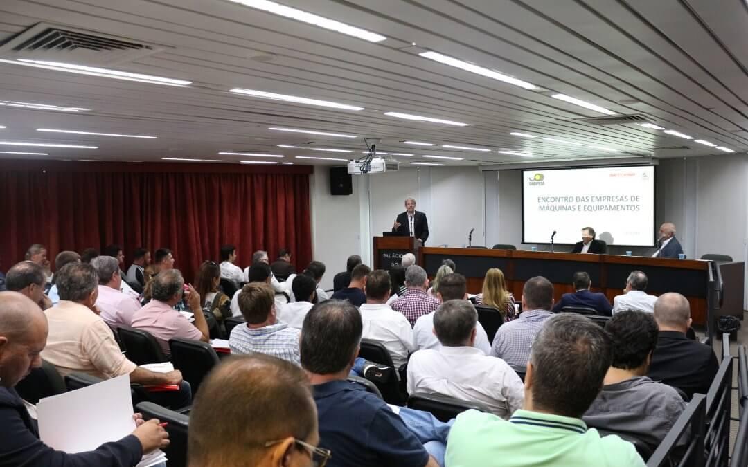 Diretoria de Máquinas e Equipamentos realiza reunião com SINDIPESA