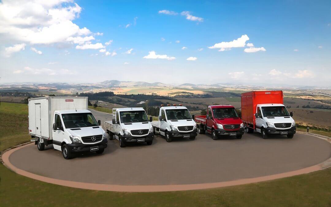 Sprinter assegura agilidade e produtividade no transporte e distribuição para supermercados