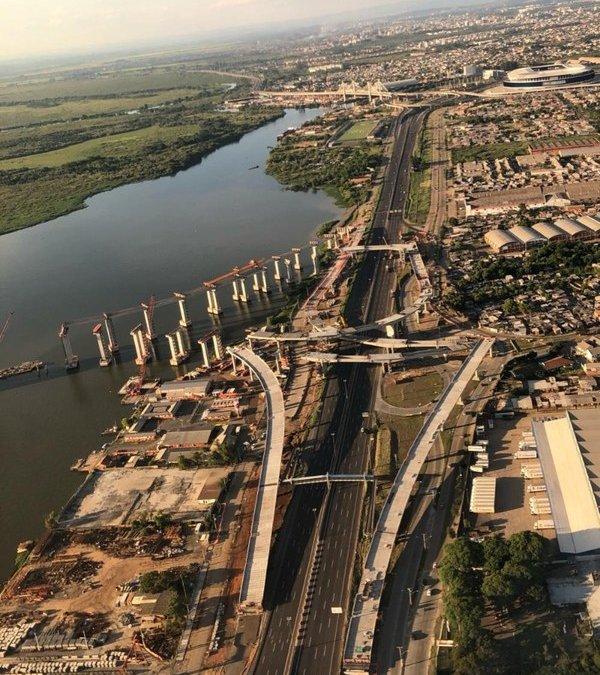 DNIT realiza mutirão para realocação devido à construção da ponte do Guaíba