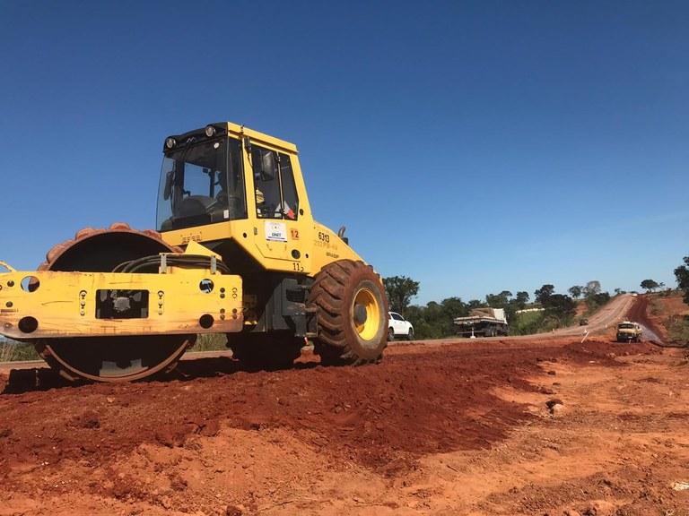 DNIT atua para garantir a manutenção de 82 quilômetros da BR-070/GO
