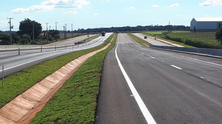 DNIT libera o tráfego de veículos em 20 quilômetros da BR-163/PR
