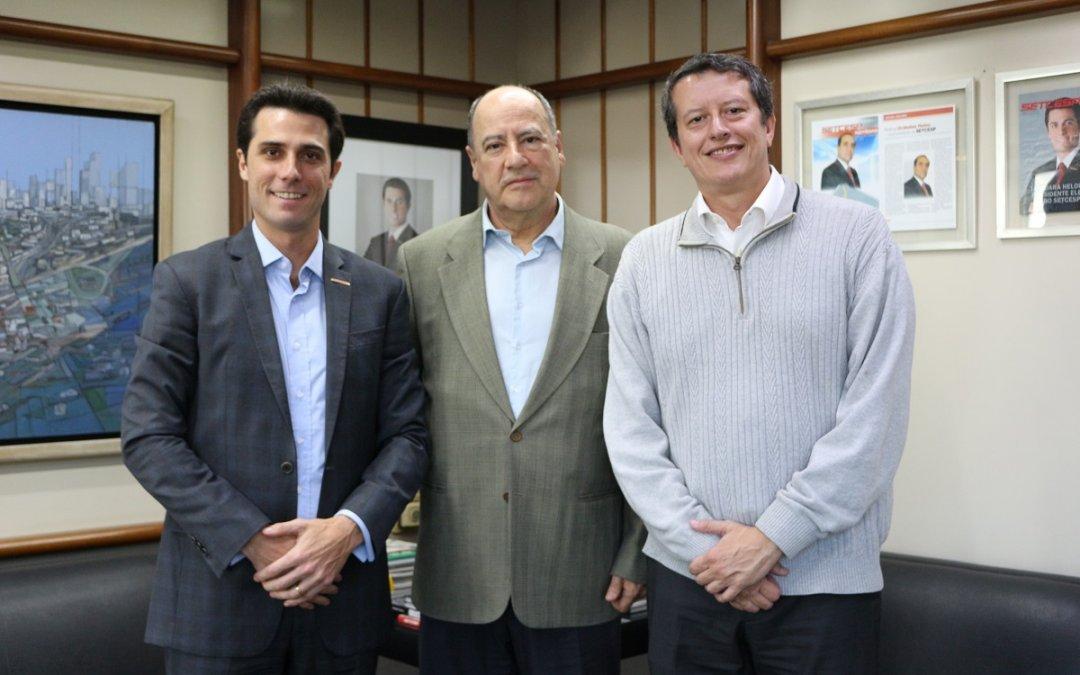 SETCESP recebe a visita da AFEEVAS para discutir parcerias