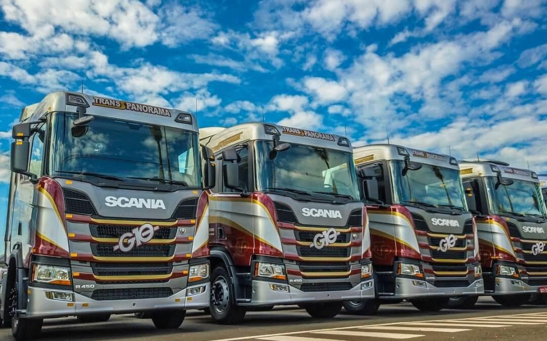 Scania vende 300 caminhões da Nova Geração para o G10