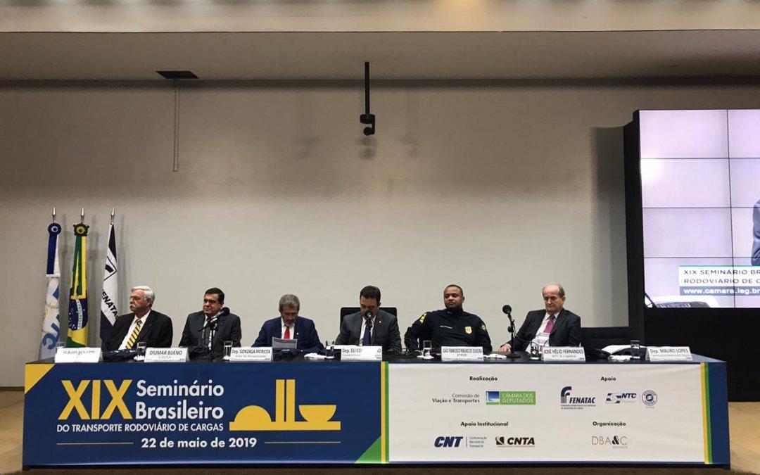 XIX Seminário do Transporte de Cargas discute pautas importantes para o setor